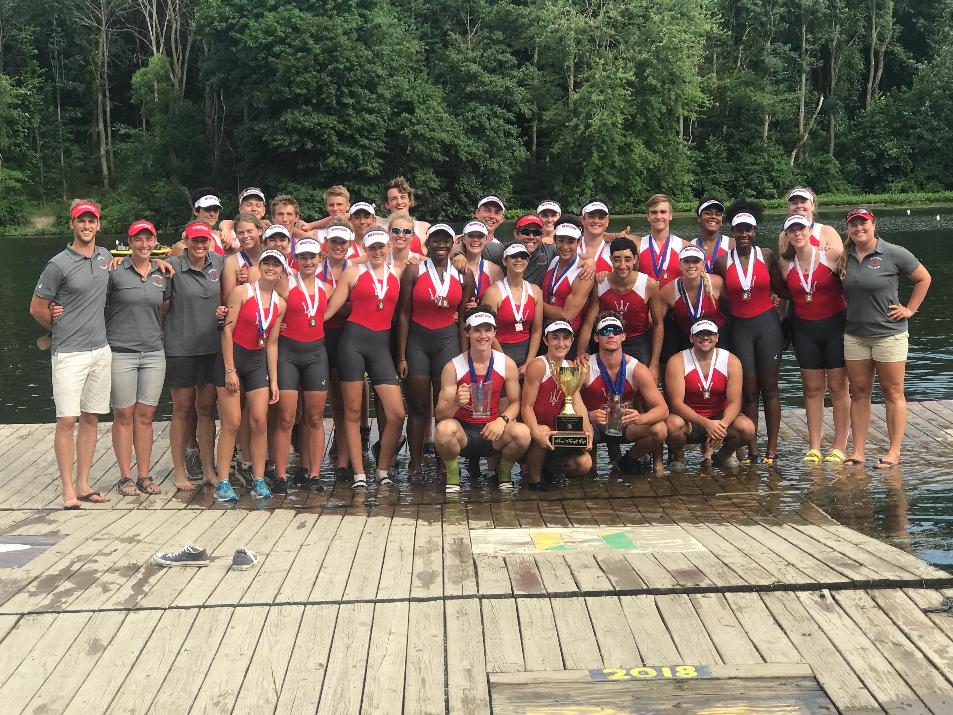 Canadian Henley U19u17 Camp Washtenaw Rowing Center